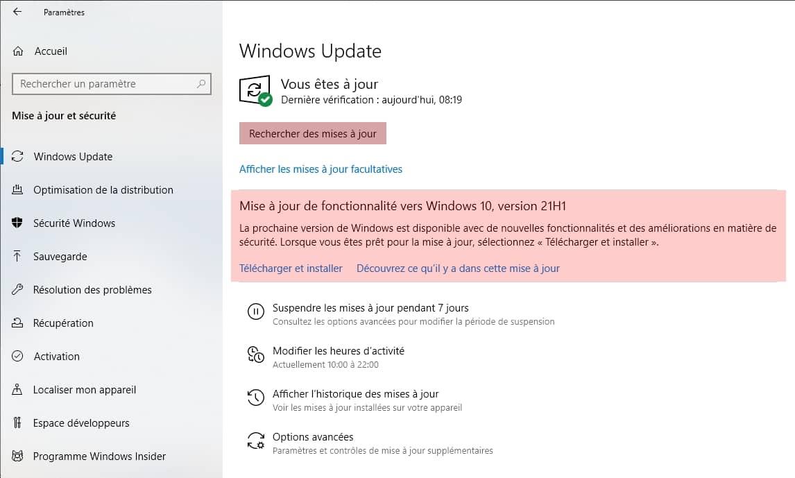 Microsoft Windows Uptate