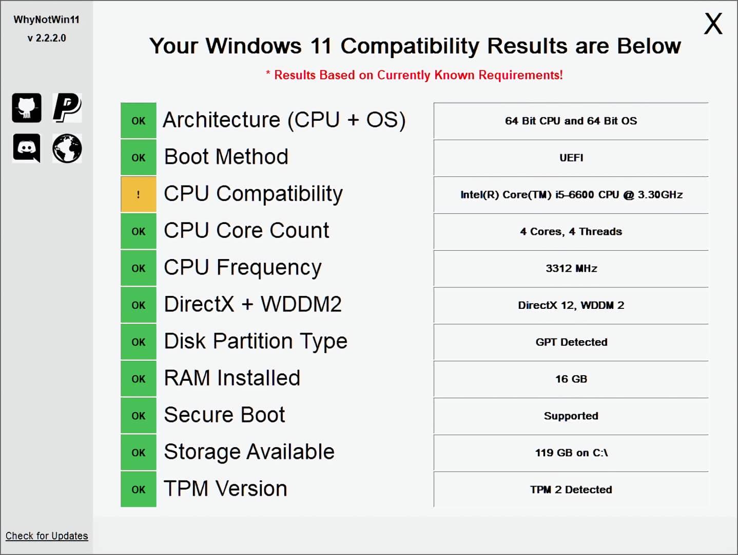 WhyNotWin11 v 2.2.2.0
